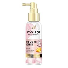 Средство для утолщения волос Pantene Rose Miracles «Подъём от корней», 100 мл
