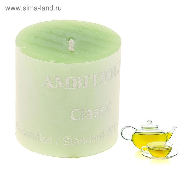 """Свеча """"Классика"""" малая, аромат зеленый чай"""