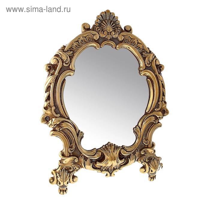 """Зеркало настольное """"Барокко"""""""