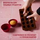 """Форма для льда и шоколада, 15 ячеек, 21,5х11,5 см """"Ракушки"""""""