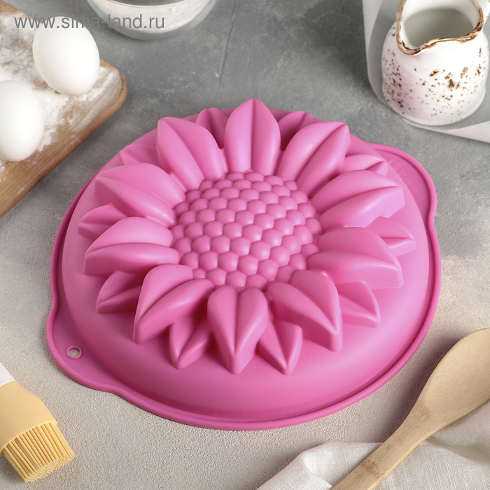 """Baking """"Sunflower"""", with handles, MIX colors"""
