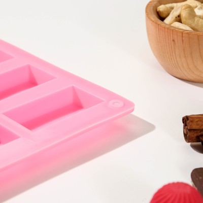 Форма для льда и шоколада «Слитки», 20 ячеек, цвет МИКС