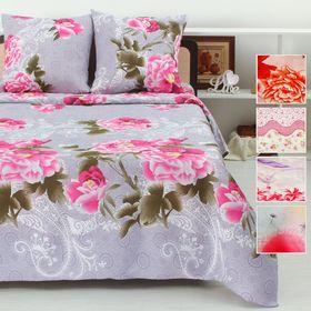 Bed sheets MERRY 1.5 c., Size 145x220 cm, 150x220 cm, 70x70 cm - 2 pcs., Color mix.