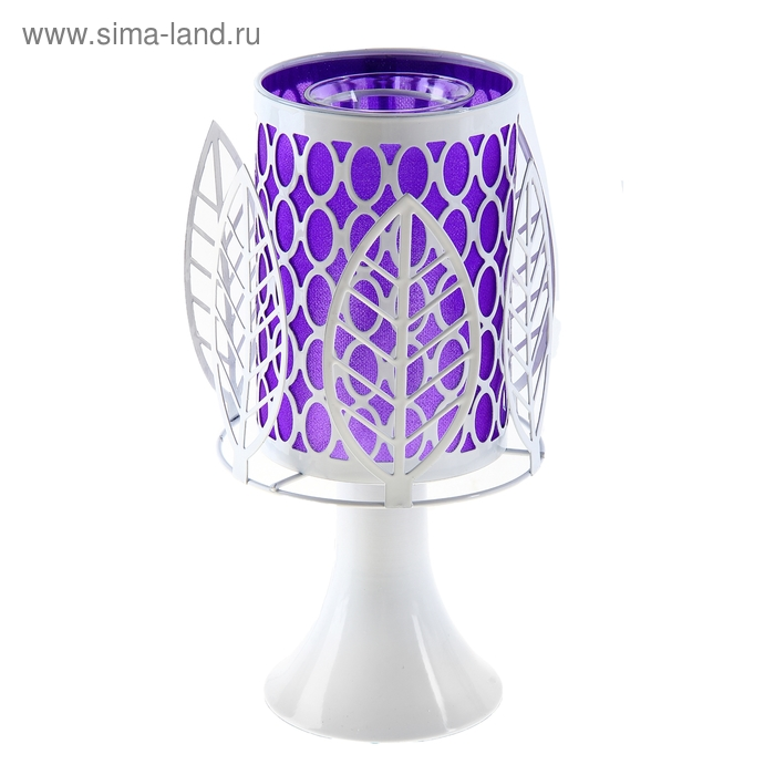 """Аромалампа """"Листья"""", фиолет"""