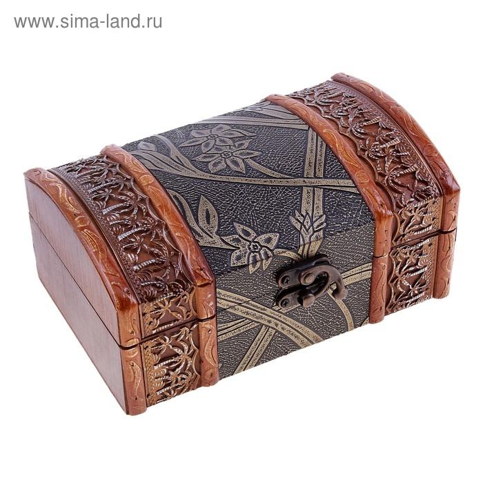"""Шкатулка Антиквар """"Лилии"""""""