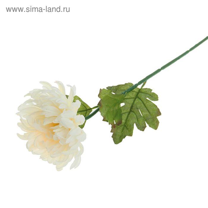 """Цветок искусственный """"Бежевая астра"""""""