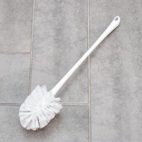 Ёрш для унитаза Svip «Ориджинал», 8×8×41 см, цвет белый