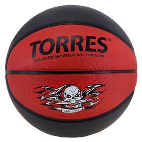 Мяч баскетбольный Torres Game Over, B00117, размер 7