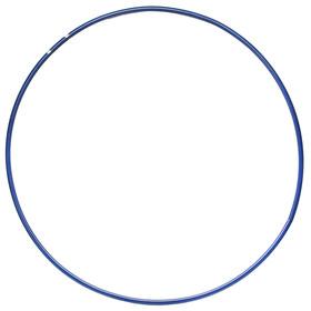 Обруч гимнастический, стальной, d=90 см, 900 г, цвет синий