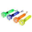 """Фонарик ручной """"Свет"""", 1 LED, zoom, рассеиватель прозрачный, микс, 3х10 см"""