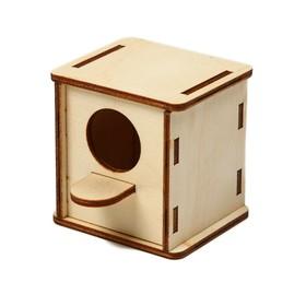 Скворечник «Кубик», 6 × 6 × 6 см, декоративный