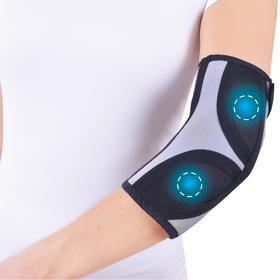 """Бандаж для коленного и локтевого сустава с аппликаторами биомагнитными медицинскими - """"Крейт"""" А-400 №1"""