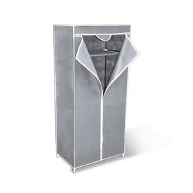 Вешалка-гардероб с чехлом, 700x440x1550,серый