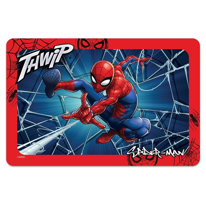 """Коврик под миску Triol Marvel """"Человек-паук"""", 43 х 28 см - фото 187351"""