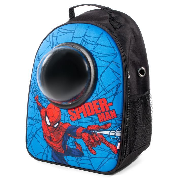 """Рюкзак для переноски животных с иллюминатором Triol Marvel """"Человек-паук"""", 45 х 32 х 23 см - фото 187354"""