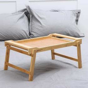 Поднос-столик , 50×30×23 см, бамбук