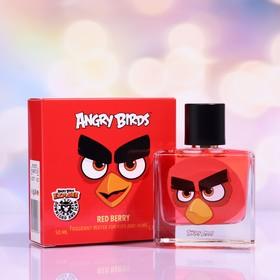 Душистая вода для детей Angry Birds Red Berry «Красная ягода», 50 мл