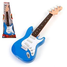 Игрушка музыкальная «Рок гитара», звуковые эффекты, цвета МИКС