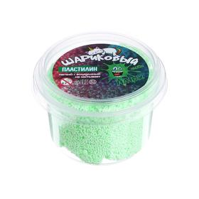 Шариковый пластилин, контейнер 100 мл, Зелёный