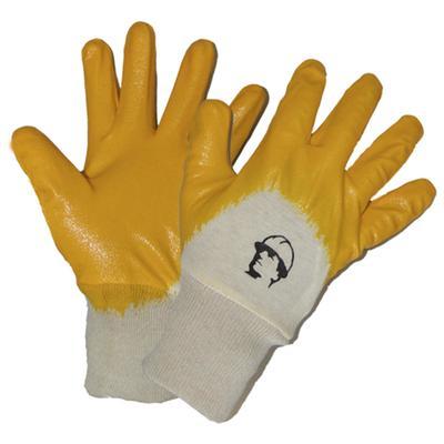 Перчатки х/б с легким нитриловым покрытием, манжет резинка