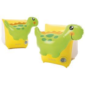 Нарукавники для плавания «Динозавр», 23 х 20 см, от 3 до 6 лет, 56664NP INTEX
