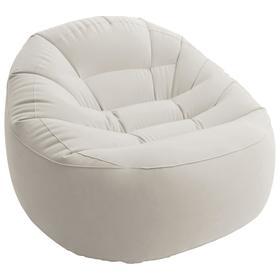 Кресло надувное Beanless Bag, 112 х 104 х 74 см, цвета микс, 68590NP INTEX
