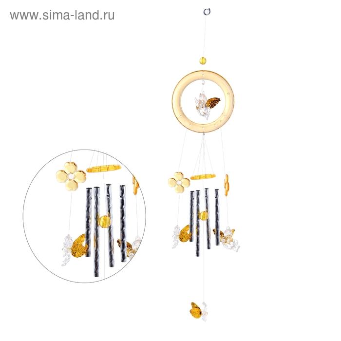 """Музыка ветра """"Ангелы"""" 4 трубочки, 6 фигурок"""