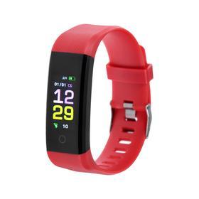 """Фитнес-браслет Smarterra FitMaster 4, 0.96"""", IPS, IP67, доп.ремешок, красный"""