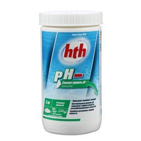 Порошок hth рН минус, 2 кг