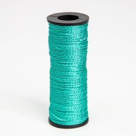 Нить 50 м, d=1 мм, цвет зелёный