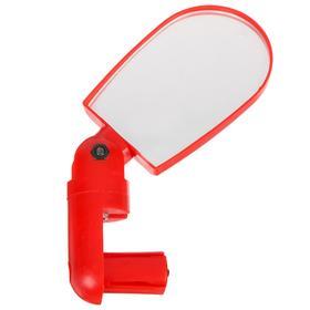 Зеркало заднего вида, цвет красный