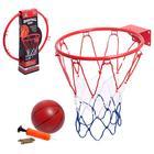 Баскетбол «Бросок», с металлическим кольцом