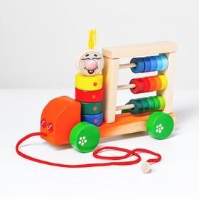Логическая игрушка «Автомобиль палитра»