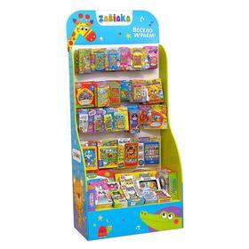 Стойка с наполнением TM «ZABIAKA», музыкальные развивающие игрушки, вариант 3 Ош
