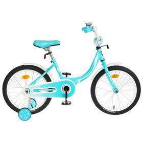 "Велосипед 18"" Graffiti Fashion Girl, цвет бирюзовый"