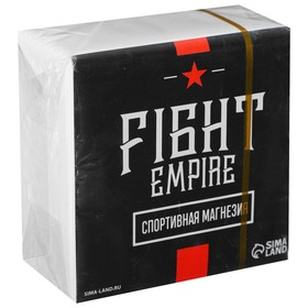 Спортивная магнезия в брикете Fight empire Ош
