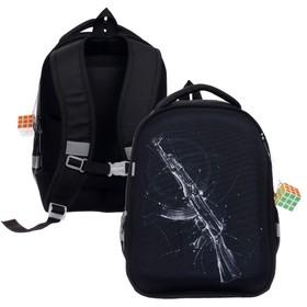 Рюкзак каркасный, Calligrata, 38 х 30 х 17 см, «Автомат»
