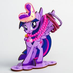 """Органайзер для резинок и бижутерии """"Пони единорог Искокра"""", My Little Pony"""
