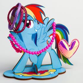 """Органайзер для резинок и бижутерии """"Пони Радуга Деш"""", My Little Pony"""