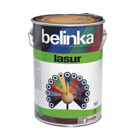 Лазурное покрытие для защиты древесины BELINKA LASUR  № 25 Пиния 10 л.