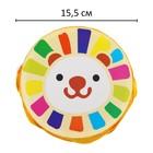 Музыкальная игрушка «Барабан», с рисунком, цвета микс, бумажная мембрана - фото 106524143