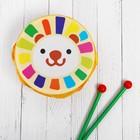 Музыкальная игрушка «Барабан», с рисунком, цвета микс, бумажная мембрана - фото 106524148