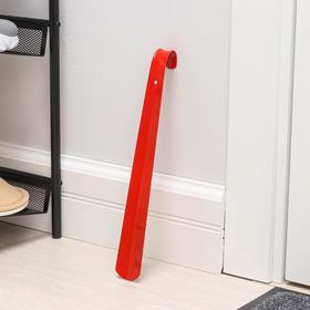 Ложка для обуви Solomon-De Luxe, 35 см, толщина 1,5 мм, металл, цвет МИКС Ош