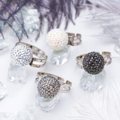 """Ring of youth """"Ball"""", dimensionless, MIX color"""