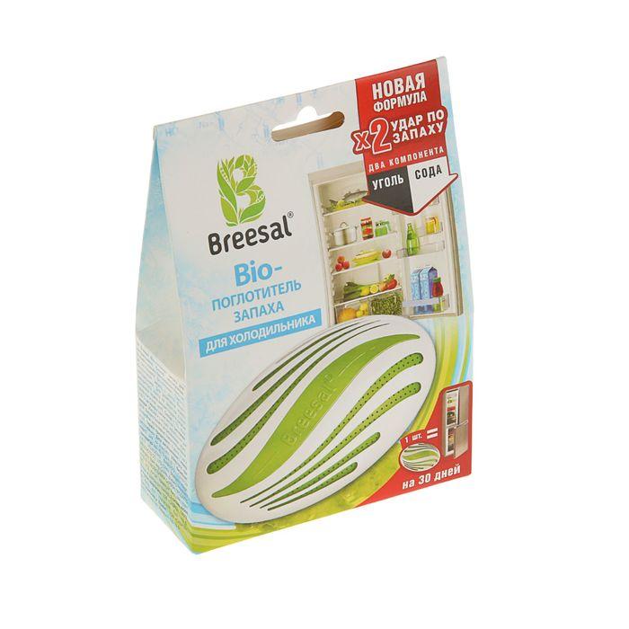 Поглотитель запаха для холодильника BREESAL БИО,  80 г