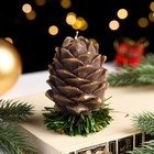 """Свеча новогодняя """"Шишка на елке"""""""