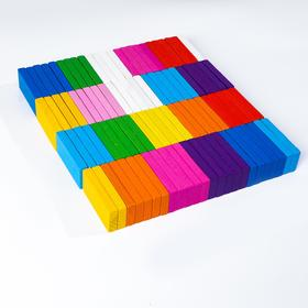 Конструктор «Яркие плашки», 96 деталей