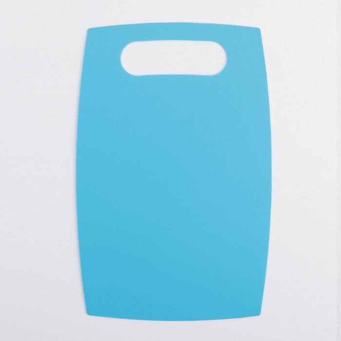 Набор досок разделочных противоскользящих, 3 шт: 22х36 см, 19х29 см, 15х24 см, цвет МИКС