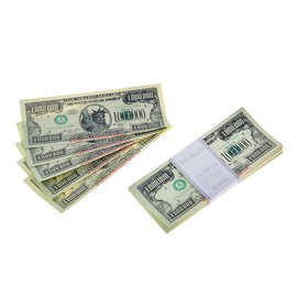 Пачка купюр 1000000 долларов