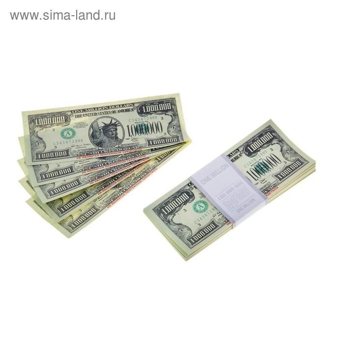 Пачка купюр 1000000 $